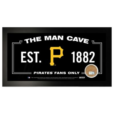 MLB Pittsburgh Pirates Large Framed Man Cave Sign