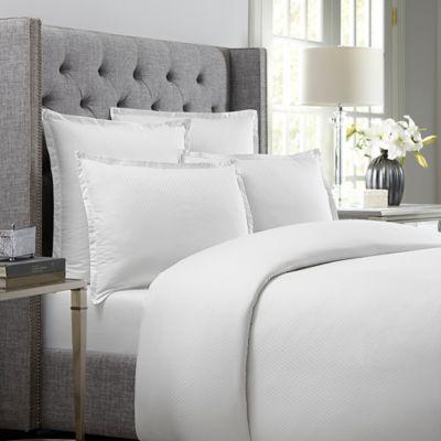 Wamsutta® 620-Thread-Count Diamond King Duvet Cover in White