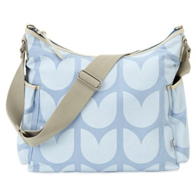 OiOi® Tulip Hobo Diaper Bag in Baby Blue