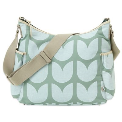 OiOi® Tulip Hobo Diaper Bag in Mint Green