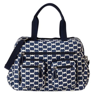 OiOi® Eclipse Dot Carryall Diaper Bag in Blue