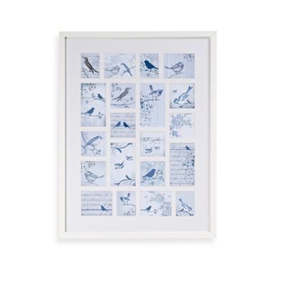 Graham & Brown Feathered Friends Collectibles Framed Wall Art