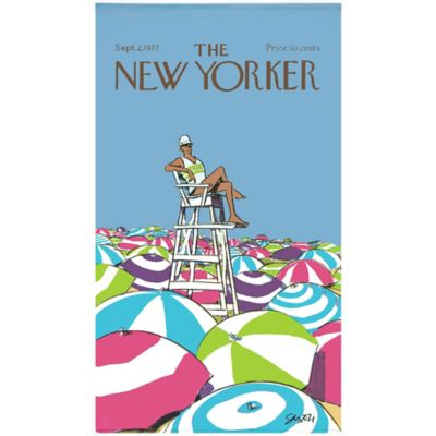 Condé Nast The New Yorker On Duty Beach Towel