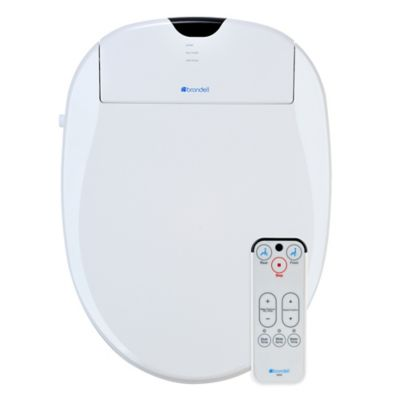 Brondell Swash Bidet Round Toilet Seat in White