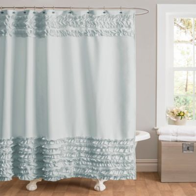 Skye Shower Curtain in Blue