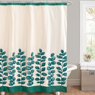Floral Curtains Showers