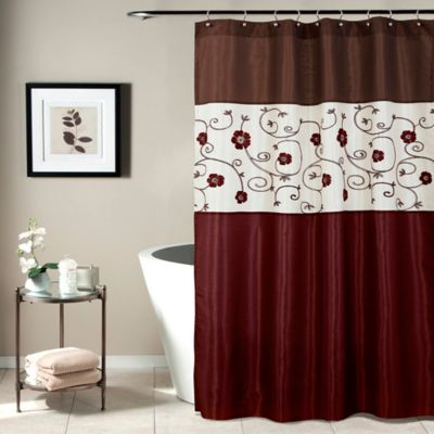 Green Red Shower Curtains