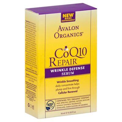 Avalon Organics® CoQ10 Repair™ .55 oz. Wrinkle Defense Serum