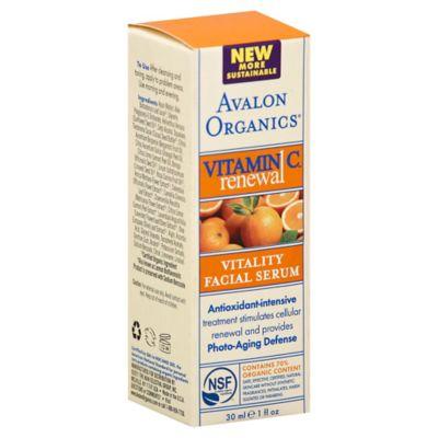 Avalon Organics® 1 oz. Vitamin C Vitality Facial Serum