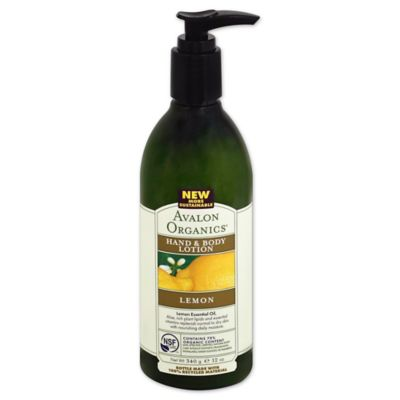 Avalon Organics® 12 oz. Hand & Body Lotion in Lemon