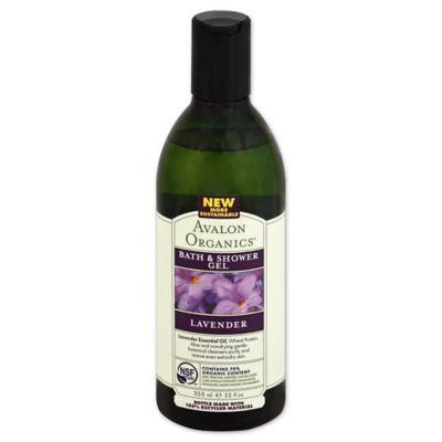 Avalon Organics® 12 oz. Bath & Shower Gel in Lavender