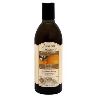 Avalon Organics® 12 oz. Bath & Shower Gel in Lemon