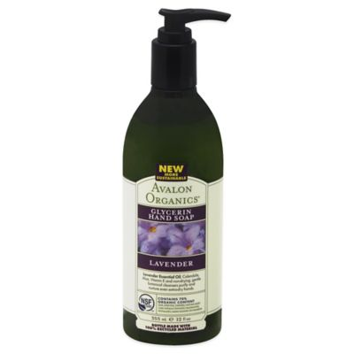 Avalon Organics® 12 oz. Glycerin Hand Soap in Lavender