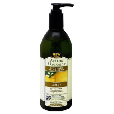 Avalon Organics® 12 oz. Glycerin Hand Soap in Lemon