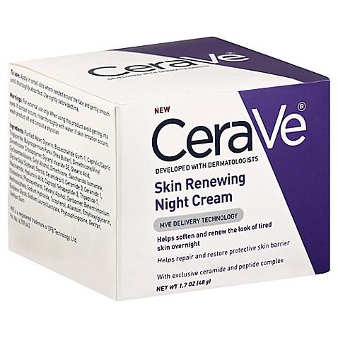 E45 facial renewing night cream