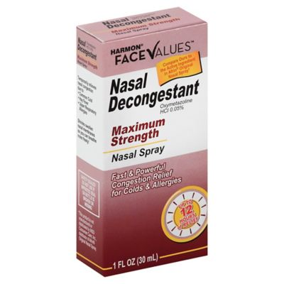 Harmon® Face Values™ 1 oz. Nasal Decongestant Maximum Nasal Spray