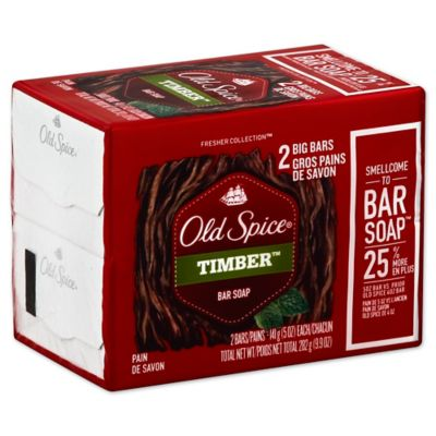 Old Spice® Fresher Collection® 2-Count 5 oz. Bar Soap in Amber