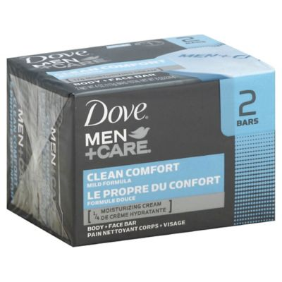 Dove® 2-Count Men+Care Body and Face Bar in Clean Comfort