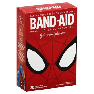 Johnson & Johnson® Band-Aid® 20-Count Ultimate Spider-Man Adhesive Bandages Assorted Sizes
