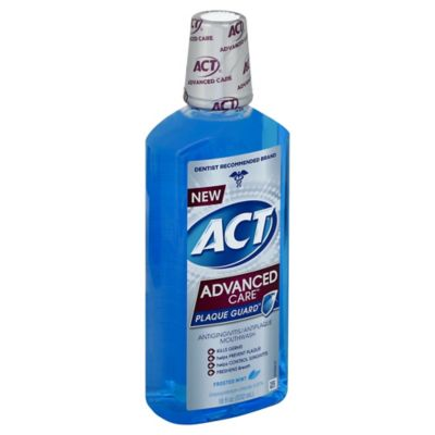 ACT® Advanced Care™ Plaque Guard™ 18 oz. Mouthwash in Frosted Mint