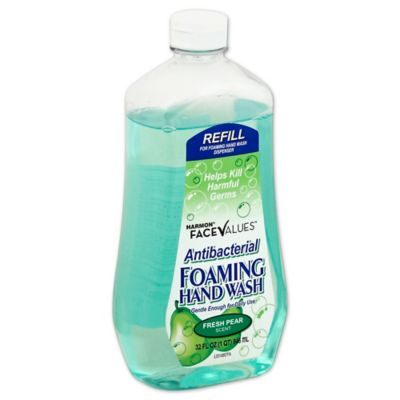 Harmon® Face Values™ 32 oz. Antibacterial Foaming Hand Wash in Fresh Pear