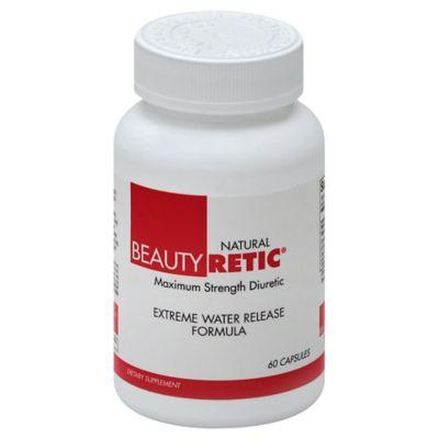 BeautyFit® BeautyRetic™ 90-Count Maximum Strength Natural Diuretic Capsules