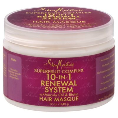 SheaMoisture 12 oz. Superfruit Complex 10-in-1 Renewal System Hair Masque