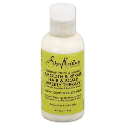 Shea Moisture 4 oz. Tahitian Noni & Monoi Hair & Scalp Weekly Therapy