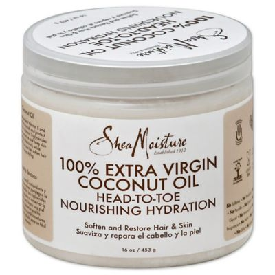 SheaMoisture 16 oz. 100% Extra Virgin Coconut Oil Head to Toe Nourshing Hydration