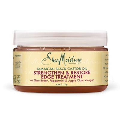 SheaMoisture 4 oz. Jamaican Black Castor Oil Strengthen Grow & Restore Edge Treatment Gel