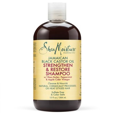 Shea Moisture 13 oz. Jamaican Black Castor Oil Strengthen Grow & Restore Shampoo