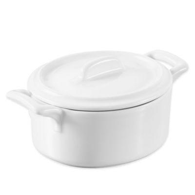 Revol® Belle Cuisine® 1 qt. Porcelain Cocotte with Lid
