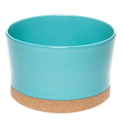 Amorim Cork Ceramic Salad Bowl in Blue