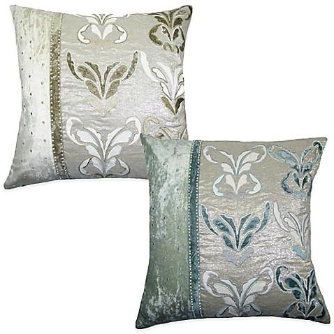 Boa Embroidered Square Throw Pillow Www Bedbathandbeyond Com