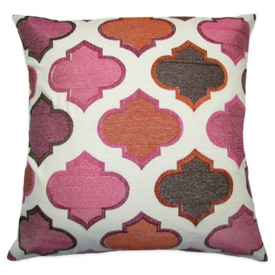 Orange Brown Decorative Pillows
