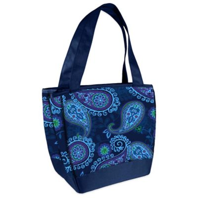 Fit & Fresh® Hyannis Insulated Lunch Bag in Blue Paisley