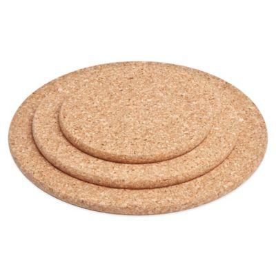 Amorim Cork 3-Pack Round Trivet Set