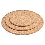 Amorim Cork 3-Pack Round Trivet Set