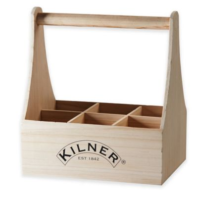 Kilner® 6-Compartment Bottle Caddy