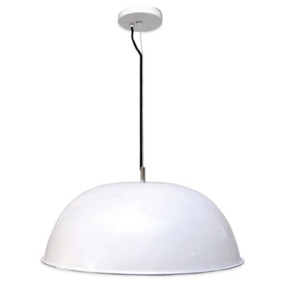 White Mount Light Fixture
