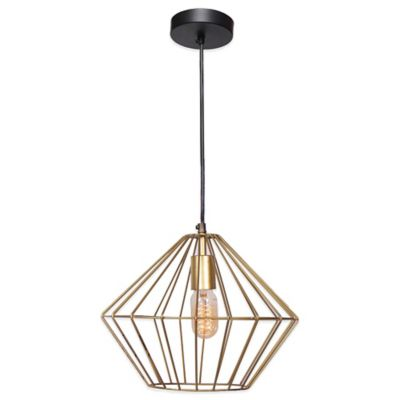 Ren-Wil Empire Ceiling Fixture in Gold