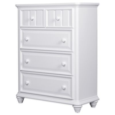 Pulaski Summer Time 5-Drawer Dresser in White
