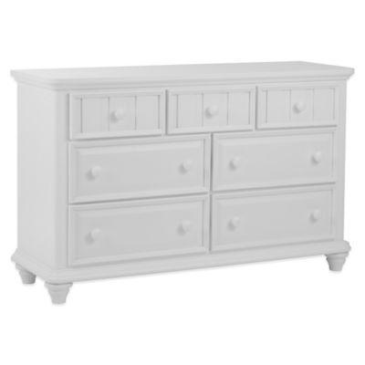 Pulaski Summer Time 7-Drawer Dresser in White