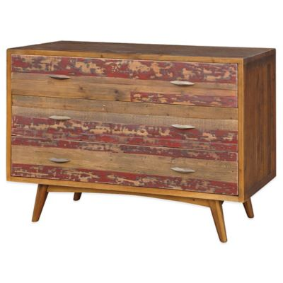 Beekman 1802 Claussen 3-Drawer Barnwood Chest