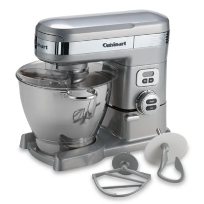 Cuisinart® 5 1/2-Quart Stand Mixer in Brushed Chrome