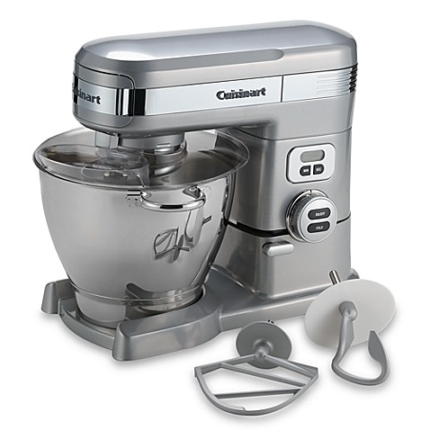 Cuisinart® 5.5-Quart Stand Mixer in Brushed Chrome