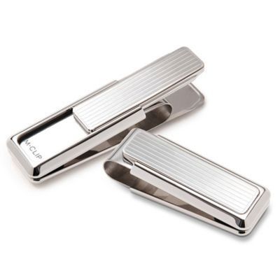 M-Clip Monterey Plated Channeled Slide Money Clip