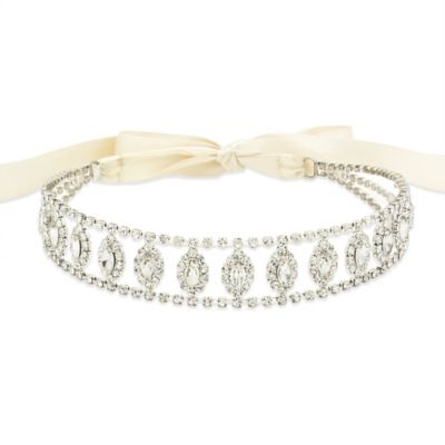 Amy O. Bridal Anastasia Halo Crystal Bridal Headband