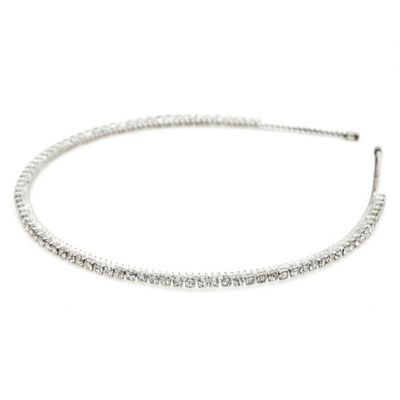 AMY O. Bridal Crystal Headband