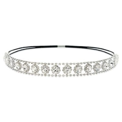 Amy O. Bridal Alluring Crystal Bridal Headband